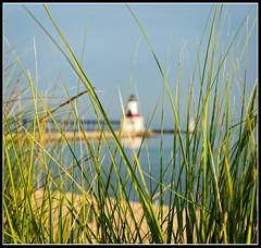 Lighthouse Beyond (JB_Atlanta) Tags: indiana lakemichigan lakeshore landscape michigancityindiana nature texture michigancity unitedstates