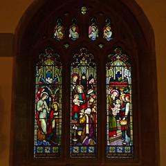 Kingston St Mary, Somerset, Church of the Blessed Virgin Mary. (Tudor Barlow) Tags: kingstonstmary somerset england churches parishchurch stainedglass listedbuilding gradeilistedbuilding autumn lumixfz200 preedy frederickpreedy 1881