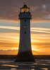 New Brighton Lighthouse. (PRA Images) Tags: newbrightonlighthouse lighthouse newbrighton perchrock wirral rivermersey liverpoolbay sunset