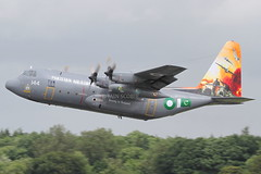 (scobie56) Tags: lockheed c130 hercules 144 pakistan air force fizaya 35 composite transport wing 6 squadron antelopes nur khan oprn islamabad intl riat royal international tatoo fairford 2016