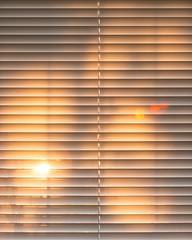 Morning Sun (oandrews) Tags: blinds canon canon70d canonuk golden light morning orange sun sunlight sunrise