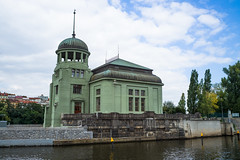 Hydroelectric Station (Andrew Caird) Tags: hydroelectric prague river srs