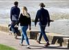 StridingOut (Hodd1350) Tags: poole sandbanks dorset people backs men males woman female walking together instep olympus zuikolens ome5ll shadows