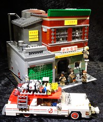 Lego Ghostbusters (2016) HQ MOC (siegfried_fm) Tags: lego moc modular ghostbusters