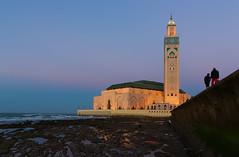 Casablanca (wu di 3) Tags: mosque africa casablanca minaret morocco islam father dusk walk