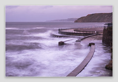 Roaring sea (www.kirsten-berg.com) Tags: autumn nature hightide northsea waves longexposure seascape yorkshirecoast northyorkshire scarborough