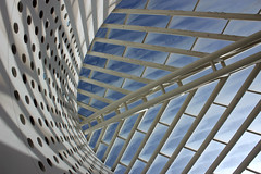 Afternoon Light in the Oculus (JB by the Sea) Tags: sanfrancisco california october2016 sanfranciscomuseumofmodernart sfmoma architecture
