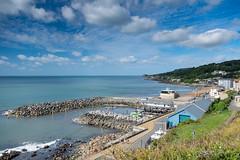 A Summer's day, Ventnor, Isle of Wight - DSCF0093 (s0ulsurfing) Tags: s0ulsurfing 2016 august isle wight ventnor seaside summer sea coast coastal