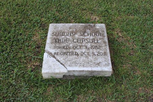 First Baptist Church Sunday School time capsule, Marianna