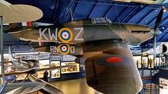 Hawker Hurricane I c/n W/O-5422 Royal Air Force serial L1592 code KW-Z (sirgunho) Tags: london science museum united kingdom england preserved hawker hurricane i cn wo5422 royal air force serial l1592 code kwz