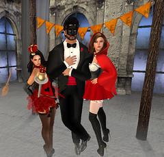Jesie Halloween Party 25 (hunnibear86) Tags: halloween costume secondlife sl demon wolf lycan
