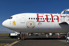 Ethiopian Airlines B767-300ER ET-ALP parked at ADD/HAAB (Jaws300) Tags: addis ababa bole international airport add haab b767300 b767 b763 et eth airlines ethiopian airways boeing ethiopianairlines b767300er etalp parked
