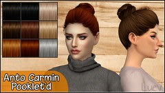 Anto Carmin Hair # Pooklet textures (mertiuza) Tags: los sims sim ts4 ls4 sim4 sims4 lossims thesims lossims4 thesims4 luev tarihsims tarihsim ts tarih recolor recolors mertiuza tarihsimsnet wwwtarihsimsnet download downloads descarga descargas custom content contenido personalizado cc hair pelo cabello mujer female pooklet pookletd anto alesso coolsims coolsim cool