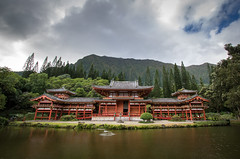 Byodo-ln (the CAMera of ian CAMpbell; simple) Tags: byodoin buddhist temple oahu hawaii