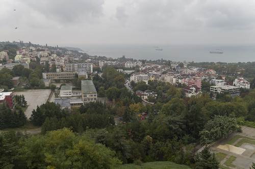 View over Varna, 08.10.2014.