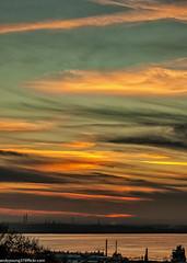 Sunset across the Mersey Estuary (4 of 4) (andyyoung37) Tags: merseyestuary runcorn uk cheshire greatsky rivermersey sunset england unitedkingdom gb