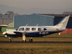 G-BEZL Piper Navajo 31  2Excel Aviation Ltd (Aircaft @ Gloucestershire Airport By James) Tags: gloucestershire airport gbezl piper navajo 31 2excel aviation ltd egbj james lloyds
