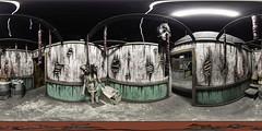 Interior room - Haunted House - Panoramic (RickDrew) Tags: interior haunted house equirectangular panoramic canon fisheye 815 ptgui pano2vr photoshop 5d mkiii midnight terror