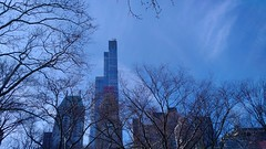 Manhattan Skyline from Central Park (Angel Xavier Viera) Tags: newyork ny nyc bigapple buildings architecture bluesky manhattan skycraper essexhouse