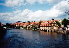 Bamberg, Kis Velence (ossian71) Tags: németország germany deutschland bamberg bayern bajorország városkép city műemlék sightseeing vízpart water folyó river