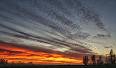 Sunset Horstermeer, Netherlands (Jfbp) Tags: sundown excapture zonsondergang sky hemel lucht landschap horstermeer clouds wolken nederhorst den berg nederland holland randstad wijdemeren