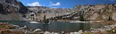 LakeSolitudePanorama2 (laelia74) Tags: wyoming grandtetons fall nature outside hiking mountains