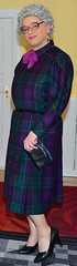 Ingrid023302 (ingrid_bach61) Tags: dress kleid buttonthrough durchgeknöpft pleatedskirt faltenrock mature