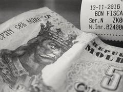 money returned (micagoto) Tags: moldova moldau lei money bill
