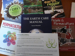Challenge Friday, theme caring (2) Permaculture ethics - earth care, people care, fair share (karenblakeman) Tags: challengefriday cf16 caring permaculture earthcare peoplecare fairshare books 2016 november uk 2016pad