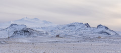everything one needs in Iceland ... ;) :) (lunaryuna) Tags: iceland westiceland snaefellsnespeninsula snaefellsjokull mountainrange volcano glacier church homestead radiomast isolation solitude landscape panorama panoramicviews winter season seasonalwonders thelightfantastic lunaryuna
