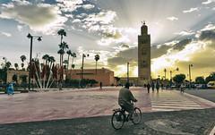 Koutoubia Mosque. Marrakech (Michael's shots) Tags: marrakech nikond3100 mosque koutoubia medina morocco