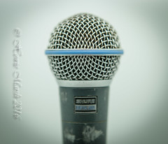 Day 328: Shure Beta 58A (Howie1967) Tags: live mic dynamic vocal microphone grill ball mesh performance tool sound