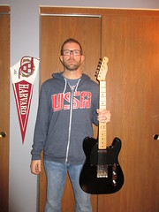 Day 327 (GearBoxTy) Tags: canonpowershotelph170is 365days beard carreraglasses fender classicplayerbajatelecaster harvard usa telecastertuesday teletuesday