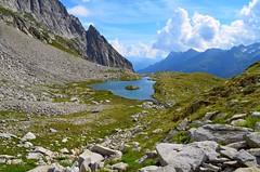 Laghetto delle Pigne (dino_x) Tags: panorama landscape mountains alpi alps switzerland lago lake water acqua montagna allaperto nature riflessi reflections paesaggio roccia