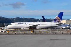 United A319 N834UA (Ian E. Abbott) Tags: airbusa319131 airbusa319100 airbusa319 airbus a319131 a319100 a319 unitedairlines n834ua 1420 sanfranciscointernationalairport sanfranciscoairport ksfo sfo