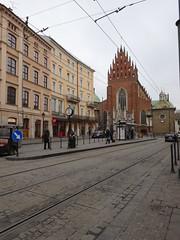 Krakow (francesca.clemente) Tags: poland krakow wieliczkasaltmine wieliczka salt mine underground snow tyre xmas xmasmarket market christmas tree winter rynekgwny square