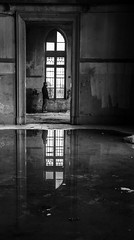 old building - explored (MrtBzts) Tags: blackandwhite bnw istanbul building old reflection window nikon d7200 sigma