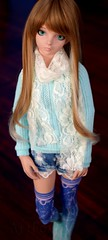 Delilah - Blue (AjiFox) Tags: bjd delilah legitbjd aquarius doll ella light tan