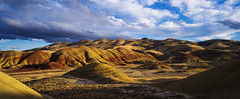 IMGP6136-1 (Mike Hiran Photography) Tags: paintedhills nationalmonument landscape goldenhour oregon mitchell geology explored