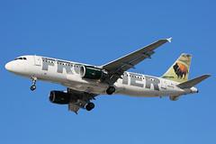 Frontier Airbus A320-232 N207FR (Mark Harris photography) Tags: spotting aircraft plane atlanta atl canon 5d