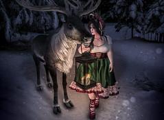 Goodbye Christmas (Johanna Leimes) Tags: bbw blog secondlife sl sweetkajira winter fat maitreya