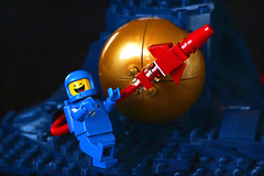 Benny Revisited (Frost Bricks) Tags: lego benny spaceship classic space logo