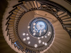 I spiral with my little eye (MiguelHax) Tags: architecture staircase spiral london heals
