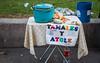 2016 - Mexico - San Luis Potosi - Tamales y Atole (Ted's photos - For Me & You) Tags: 2016 cropped mexico nikon nikond750 nikonfx sanluispotosi tedmcgrath tedsphotos tedsphotosmexico vignetting tamales tamalesyatole cart stand streetscene street sidewalk sidewalkcafe pot lid sign cokebottle oneboatle cocacola pail slp sanluispotosiphotos