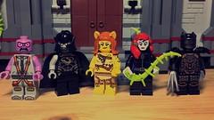 New Suicide Squad (LordAllo) Tags: lego dc new 52 suicide squad parasite black hand cheetah poison ivy talon