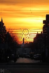 Sunset Weimarstraat, The Hague. (RAW version) (Luke Hermans) Tags: den haag hague sunset sun set zonsondergang zons ondergang weimarstraat netherlands nederland zon
