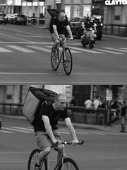 [La Mia Città][Pedala] (Urca) Tags: milano italia 2016 bicicletta pedalare ciclista ritrattostradale portrait dittico bike bicycle nikondigitale biancoenero blackandwhite bn bw 907147