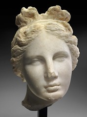 Aphrodite (The Bartlett Head) associated with the style of Praxiteles // unknown date and artist (mike catalonian) Tags: ancientgreece aphrodite praxiteles head female marble