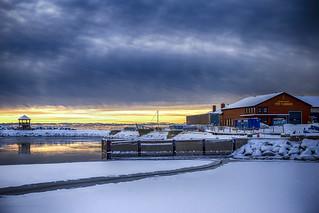 Pit Caribou Sunrise