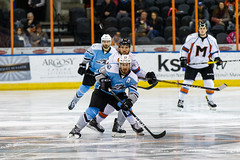 "Missouri Mavericks vs. Alaska Aces, December 17, 2016, Silverstein Eye Centers Arena, Independence, Missouri.  Photo: John Howe / Howe Creative Photography • <a style=""font-size:0.8em;"" href=""http://www.flickr.com/photos/134016632@N02/31755690015/"" target=""_blank"">View on Flickr</a>"